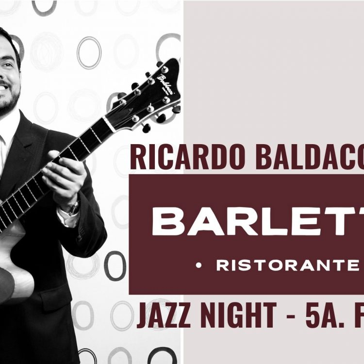 Noites de Jazz: Ricardo Baldacci ao vivo todas às quintas no restaurante Barletta